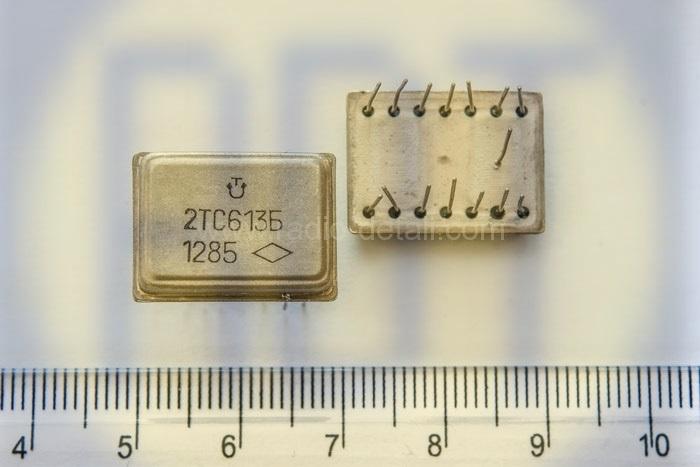37. Транзисторная сборка (КТС, 2ТС613 белые)