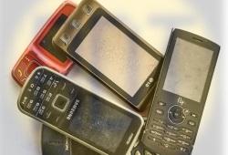 12. Телефоны в зборе без аккумулятора